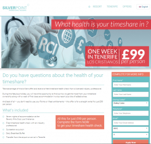 Silverpoint Timeshare Health Check