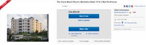 Timeshare Mart eBay Listing
